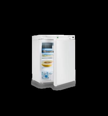DOMETIC COMBICOOL RF 62, Lodówka absorpcyjna gaz12/230V, poj. 56 l., (50 mbar), biała, D